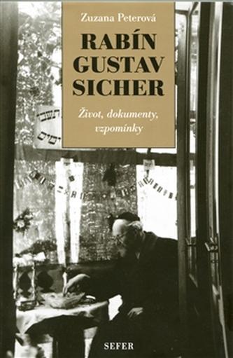 Rabín Gustav Sicher - Zuzana Peterová