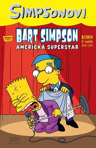 Simpsonovi - Bart Simpson 8/2014 - Americká superstar