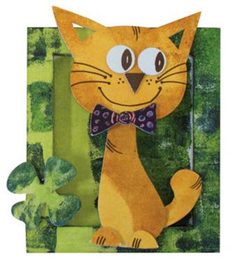 Rám mini Kočka