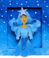 Rám mini Vánoční anděl