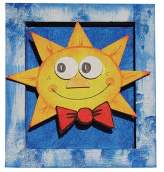 Rám malý Sluníčko