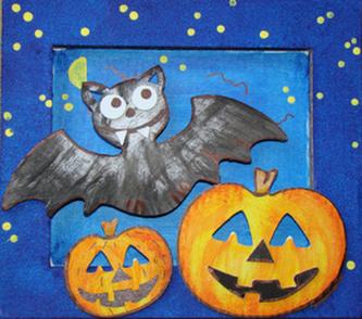 Rám malý Halloween