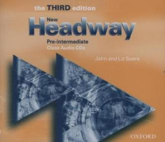 New Headway Third Edition Pre-intermediate Class Audio 3 CDs