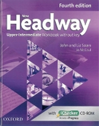New Headway Fourth Edition Upper Intermediate Workbook Without Key with iChecker CD-ROM