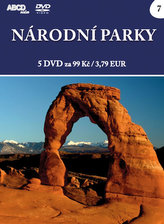 Národní parky - 5 DVD