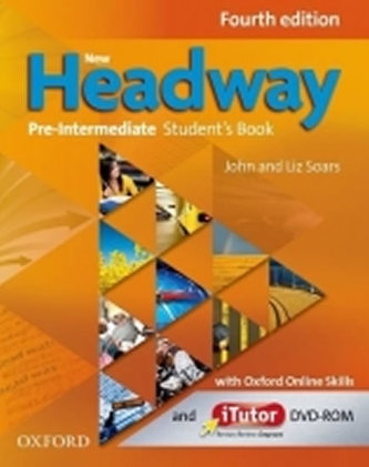 New Headway Fourth Edition Pre-intermediate Student´s Book with iTutor DVD-ROMand Online Skills