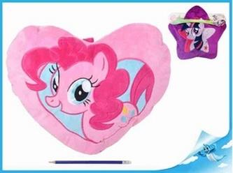 """Taška na pyžamo/polštářek plyšový 40x30cm My Little Pony"""" 2druhy"""""""