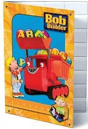 Desky na písmenka-Bob the Builder
