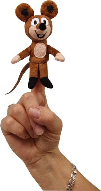 Myška 8cm, prstový maňásek
