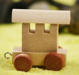 Koncový vagónek-hnědá kolečka