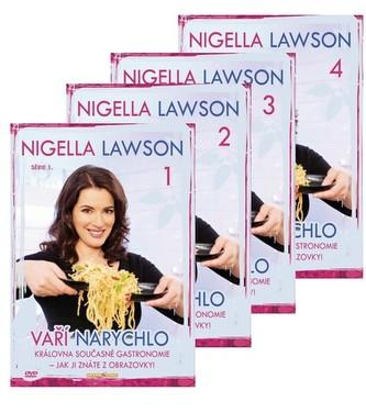 Nigella Lawson vaří narychlo 4DVD