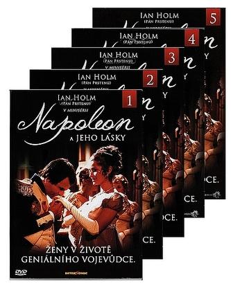 Napoleon a jeho lásky 5DVD