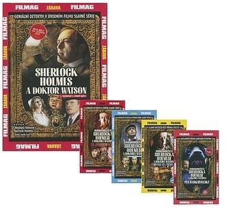 Dobrodružství Sherlocka Holmese... 5DVD