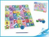 Hra Skluzavky a žebříky Peppa Pig v krabičce