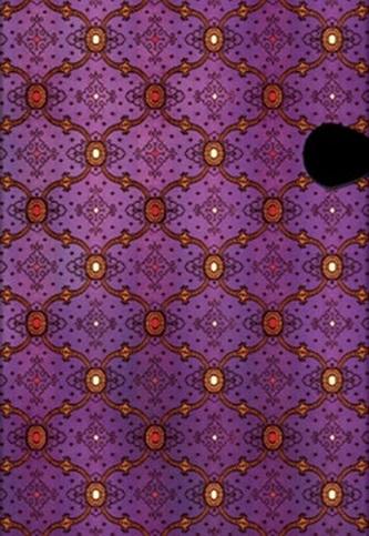 Diář French Ornate Violet 2015 VER