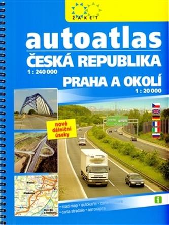 Autoatlas Česká republika + Praha a okolí