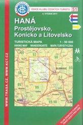 Kčt 51- Haná, Prostějovsko, Konicko a Litovelsko