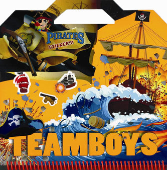 TEAMBOYS Pirates Stickers!
