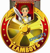 TEAMBOYS Knights Colour! – štít