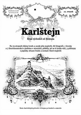 Karlštejn - hrad východně od Berouna