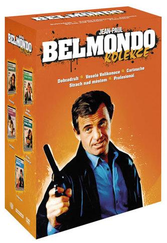 Jean-Paul Belmondo kolekce 5DVD