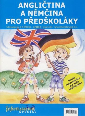 Angličtina a němčina pro předškoláky