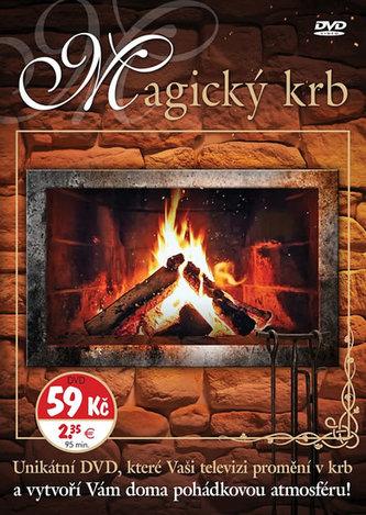 Magický krb - Unikátní DVD, které Vaši televizi promění v krb a vytvoří Vám doma pohádkovou atmosféru