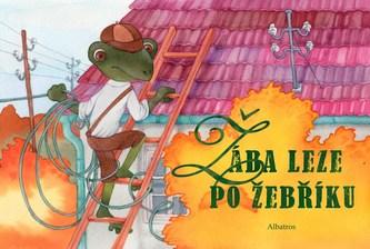 Žába leze po žebříku...