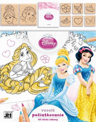 Veselé pečiatkovanie Disney Princezná
