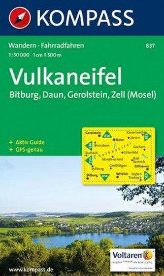 Kompass Karte Vulkaneifel