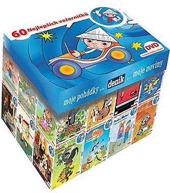 NORTH VIDEO - Večerníčkový BOX DVD - kolekce 63 večerníčků na DVD