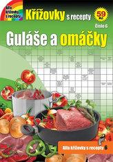 Křížovky s recepty 6 - Guláše a omáčky