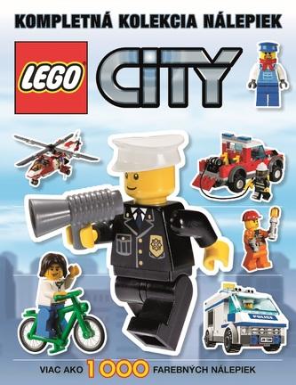 LegoŽ City Kompletná kolekcia nálepiek