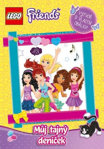 LEGO® Friends Můj tajný deníček - Linda Perina