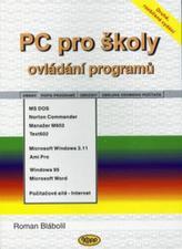 PC pro školy ovládání programů