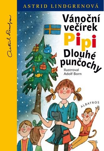 Vánoční večírek Pipi Dlouhé punčochy - Astrid Lindgren