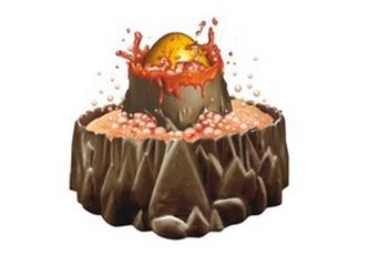 Dino quest Vulkán