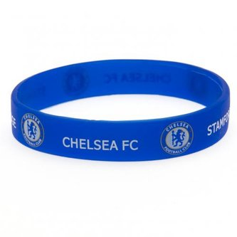 Náramek silikonový - FC Chelsea/modrý/znak