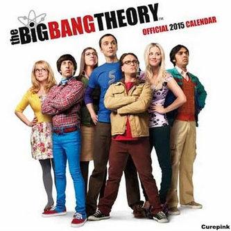 Kalendář 2015 - Teorie velkého třesku/Big Bang Theory (305x305)