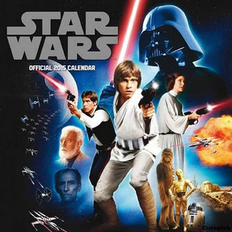 Kalendář 2015 - Star Wars/Classic (305x305)