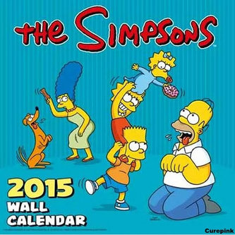 Kalendář 2015 - Simpsonovi /Simpsons (305x305)