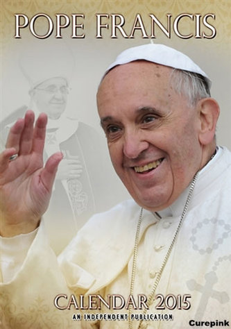 Kalendář 2015 - Papež František (297x420)