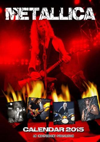 Kalendář 2015 - Metallica (297x420)