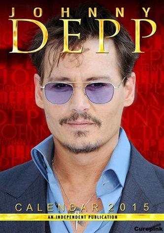 Kalendář 2015 - Johnny Depp (420x297)