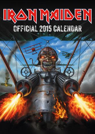 Kalendář 2015 - Iron Maiden (297x420)