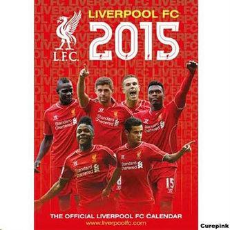 Kalendář 2015 - FC Liverpool (297x420)