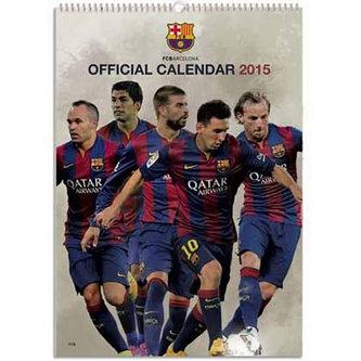 Kalendář 2015 - FC Barcelona (297x420) official