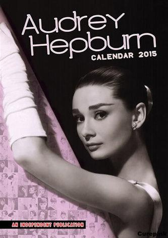 Kalendář 2015 - Audrey Hepburn (420x297)