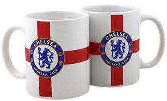 Hrnek keramický - FC Chelsea/bílý