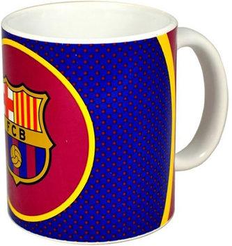 Hrnek keramický - FC Barcelona/modro-vínový se znakem